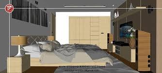 bedroom interior a n studio on behance
