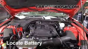mustang battery battery replacement 2015 2016 ford mustang 2015 ford mustang