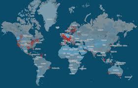 World Wide Map Worldwide Map Of V Backers Tech Talk Eve Community