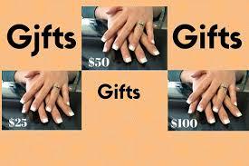 nail salon gift cards gift certificates nail salon gift certificates utah county
