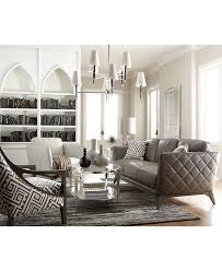 Spencer Leather Sectional Living Room Furniture Collection Leather Sofas At Macys Best Home Furniture Decoration