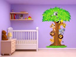 chambre jungle bébé stickers chambre bebe garcon jungle beauteous accessoires de salle