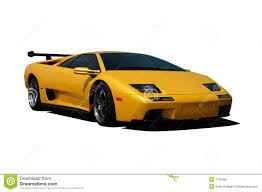 yellow lamborghini yellow lamborghini royalty free stock image image 7132926