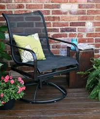Metal Patio Furniture by How To Paint Outdoor Furniture Spray Painting Sprays And Patios
