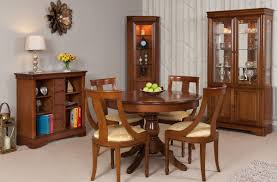 tall cherry corner display cabinet with glass doors gola