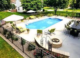 Backyard Pool Landscape Ideas Landscaping Ideas Around Inground Pool Landscape Design Around