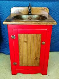Rustic Bathroom Vanities And Sinks - rustic bathroom vanity with sink 25 bathroom vanities copper