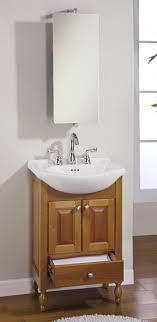 Small Vanity Bathroom 22 Inch Single Sink Narrow Depth Furniture Bathroom Vanity With