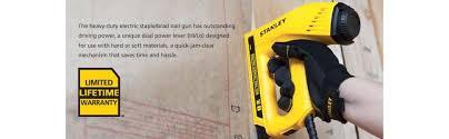 amazon black friday hammer sale stanley tre550z electric staple brad nail gun power brad nailers
