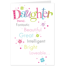 decorative birthday cards for daughter birthday ideas birthday