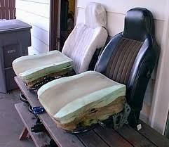 Old Beetle Interior Seats