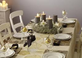 ideas how to decorate christmas table elegant christmas table decorations for 2016 easyday