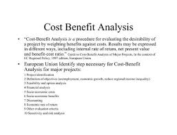cost benefit analysis basic cost benefit analysis report cost
