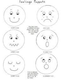 feelings faces printable library pinterest feelings face