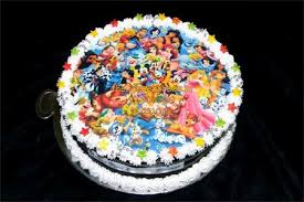disney family cake online delivery noida cartoon cakes delivery