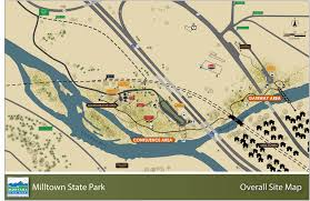 Montana State Map Montana State Parks Milltown