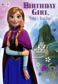 frozen u0027s princess anna birthday card greeting cards hallmark