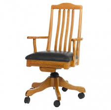 Mt Lebanon Office Furniture by Amish Office Chairs Solid Wood Construction In Office Style
