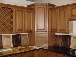 Kitchen Cabinet Doors Replacement Brown Cherry Wood Kitchen Cupboard Door Magnets Sink Combine