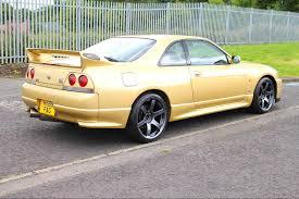 nissan gold 1995 nissan skyline r33 gtr top secret gold