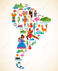 South America Flags Colombia South America People Clipart Clipart Collection