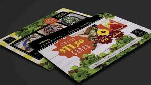 restaurant take out menu template youtube