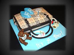baby shower boy cakes burberry baby shower boy cake smaller version of ou flickr