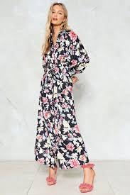 floral maxi dress in season floral maxi dress shop clothes at gal