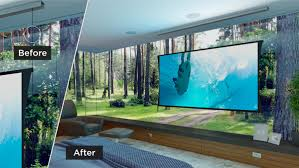zero g projector screens screen innovations