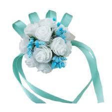 prom wrist corsage online shop 4 pcs new wrist corsage bracelet bridesmaid