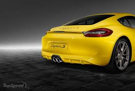 2015 porsche cayman s racing yellow by porsche exclusive