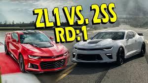 chevrolet camaro ss zl1 zl1 vs upgraded ss who wins 2017 camaro zl1 vs 2016 camaro