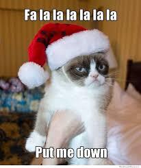 Grumpy Cat Meme Good - fa la la la la la la cat meme cat planet cat planet