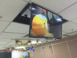 Motorized Ceiling Mount Tv by Aliexpress Com Buy Large Project Bracket Ceiling Tv Lift For 32