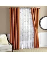 Burnt Orange Curtains Amazing Deals On Burnt Orange Curtains