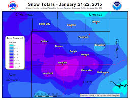 Amarillo Zip Code Map by January 21 22 Winter Weather