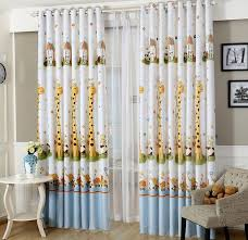 Jungle Nursery Curtains Blackout Drapes For Nursery Extreme Room Darkening For Blackout