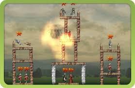castle siege flash siege master catapult