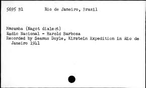 Radio Nacional De Angola Ao Audio Recording Portuguese Available Online Library Of Congress