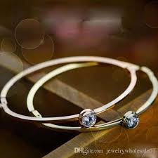 rose gold womens bracelet images Fashion love 18 k rose gold titanium steel bracelet bangle sweet jpg