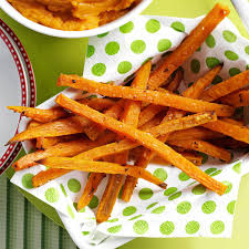 sweet potato thanksgiving side dish rosemary sweet potato fries recipe taste of home