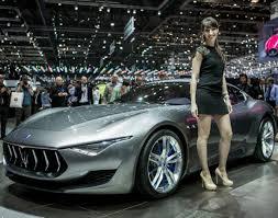 maserati alfieri maserati alfieri photos 2014 l a auto show auto show girls
