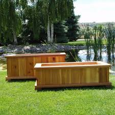 large planter boxes ideas garden trends