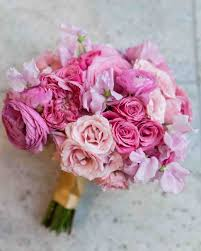 wedding flowers pretty in pink wedding bouquet ideas martha stewart weddings