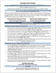 Sales Marketing Resume Sample by Format Marketing Executive Resume Format