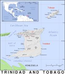 Trinidad World Map by Tt Trinidad And Tobago Public Domain Maps By Pat The Free