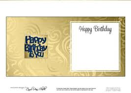 happy birthday card insert cup610279 359 craftsuprint