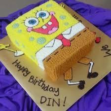 spongebob birthday cake spongebob birthday cakes ideas