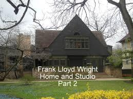 frank lloyd wright home and studio youtube