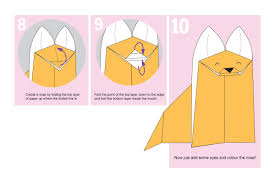 how to make an easy origami fox